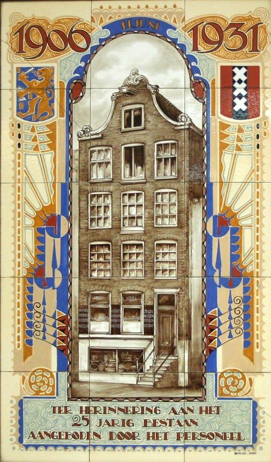 Heystee-HPB, gelegenheidtableau Zeilmakerij.1931 (coll. Meentwijck)