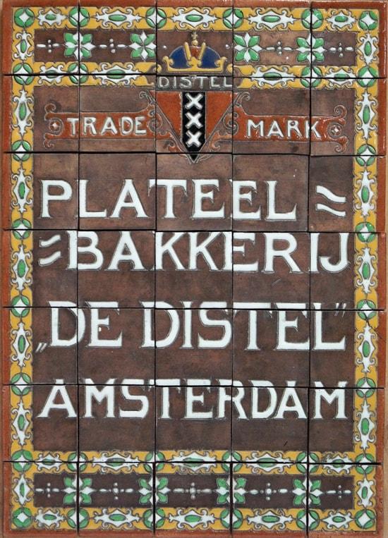 De Distel, Carduus-reclametableau, ca. 1912 (coll. Meentwijck)
