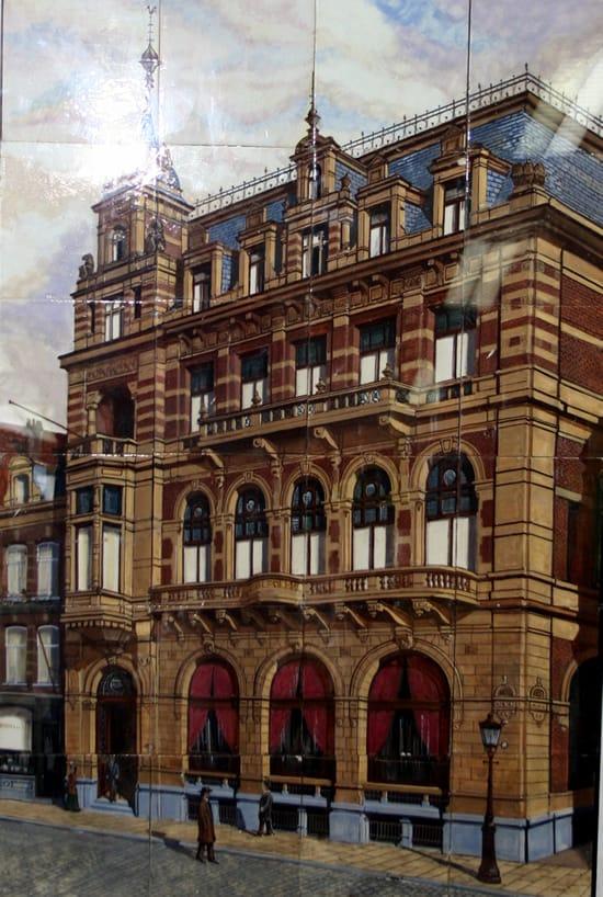 De Distel, tableau van Hotel Polen, 1915 - h. 90 cm, coll. Meentwijck